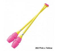 Булавы Chacott 41 см (262 розовый-желтый)