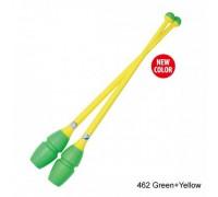 Булавы Chacott 41 см (462 зеленый-желтый)