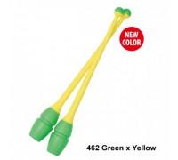 Булавы Chacott 36,5 см (462 зеленый-желтый)