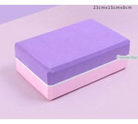 Блок фиолетово-розовый