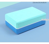 Блок бирюзово-синий