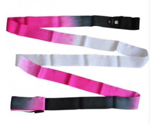 Лента Pastorelli 5 м артикул 03227 цвет Black Fuchsia White