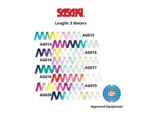 Лента Sasaki 5 м Gradation FIG MJ-715AG Rayon ART AG016