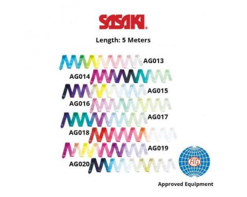 Лента Sasaki 5 м Gradation FIG MJ-715AG Rayon ART AG014