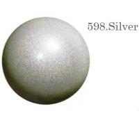 Мяч Chacott Jewerly 17 см (598 серебрянный)