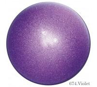 Мяч Chacott Prism 17 см (674 фиолетовый)