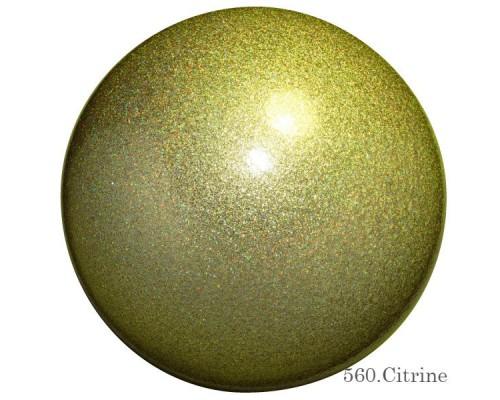 Мяч Chacott Jewerly 18,5 см (560 цитрин)