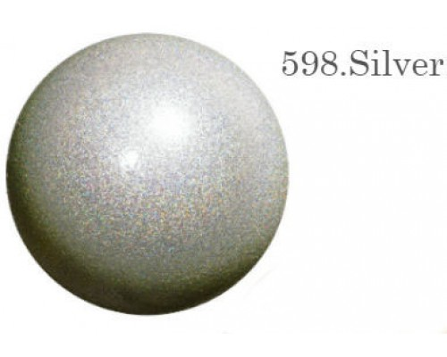 Мяч Chacott Jewerly 18,5 см (598 серебрянный)