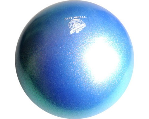 Мяч Pastorelli Glitter Blu Zaffiro HV 18 cm FIG Art. 00043