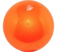 Мяч 18 см Pastorelli Глиттер Оранжевый 00028 FIG