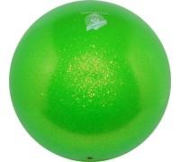 Мяч Pastorelli Glitter Verde HV 18 cm FIG Art. 00036