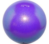 Мяч Pastorelli Glitter 16 см цвет Фиолетовый 02065 мяч 16см