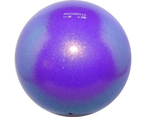 Мяч Pastorelli Glitter 16 см цвет Фиолетовый 02065