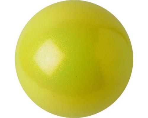 Мяч Pastorelli Glitter 16 смцвет Giallo Fluo 02198
