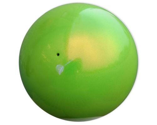 Мяч Pastorelli 18 см HV глиттер лаймовый