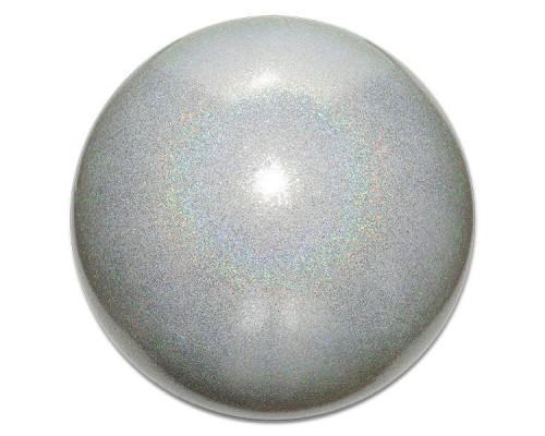 Мяч Pastorelli 18 см глиттер серебро АВ