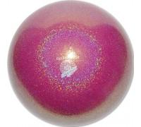 Мяч Pastorelli 18 см глиттер фуксия HV