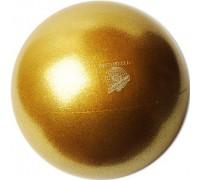 Мяч Pastorelli 18 см глиттер медовый HV
