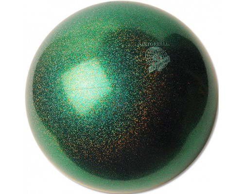 Мяч Pastorelli 18 см глиттер жук бронзовка HV