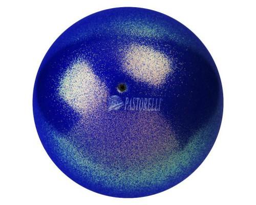 Мяч Pastorelli 18 см цвет Glitter Blu HV