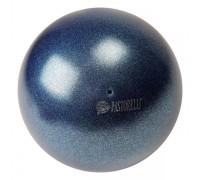 Мяч 18 см Pastorelli Глиттер цв. Синий Темный HV арт. 02303 FIG