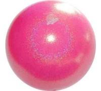 Мяч 18 см Pastorelli Глиттер Галакси цв. Розовый Яркий арт. 02452