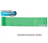 Светло-зеленая резинка толщиной 0,9 мм / 1 шт