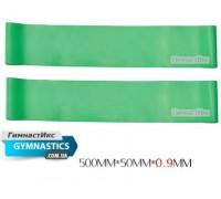 Светло-зеленая резинка толщиной 0,9 мм / 1 пара