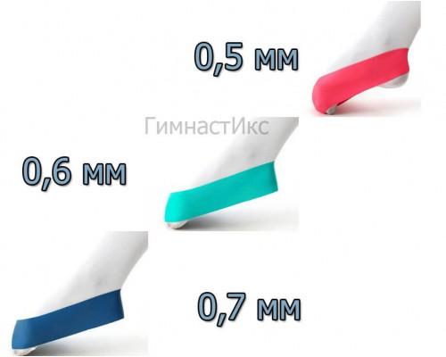 Комплект резионок толщиной 0,5-0,7 мм / 3 шт