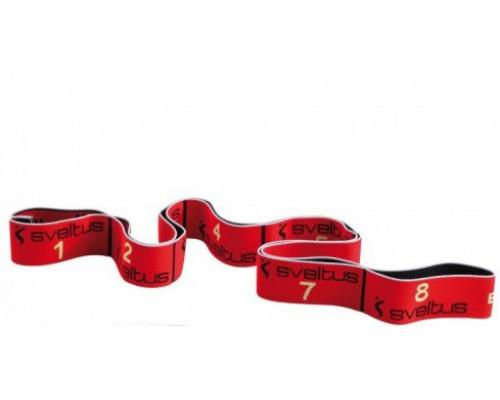 Резина Sveltus Elastiband 10 кг цвет Красный