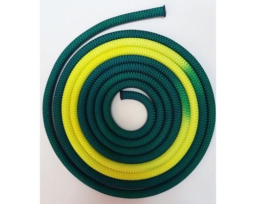 Скакалка Venturelli зеленую желтую 213118