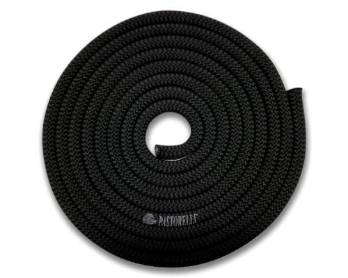 Скакалка Pastorelli Black 3 м Черный 00104