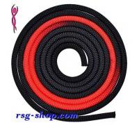 Скакалка Venturelli 3 m FIG col. Black-Red PLDD002016