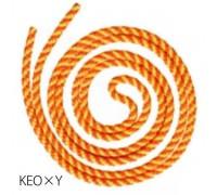 Скакалка Сасаки MJ-243 KEOxY 2,5м цв. Fluo Orange-Yellow