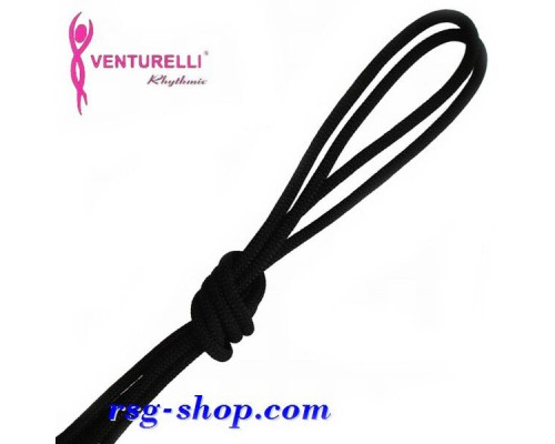 Скакалка Venturelli 3м мод. PL2 col. Black FIG Art. PL2-002