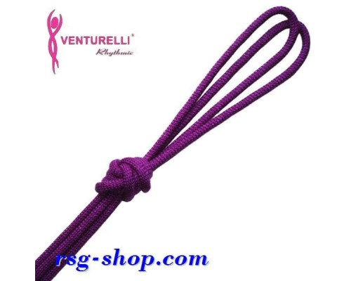 Скакалка Venturelli 3м мод. PL2 col. Purple FIG Art. PL2-017
