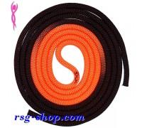 Скакалка Venturelli 3 m FIG цв. Black-Orange PLDD002014