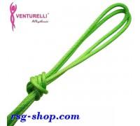 Скакалка Venturelli 3м мод. PL2 col. Acid Green FIG Art. PL2-113