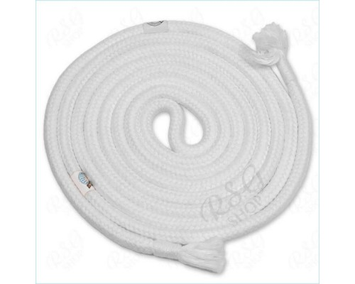 Скакалка Chacott 3 m FIG цв. White Art. 30207