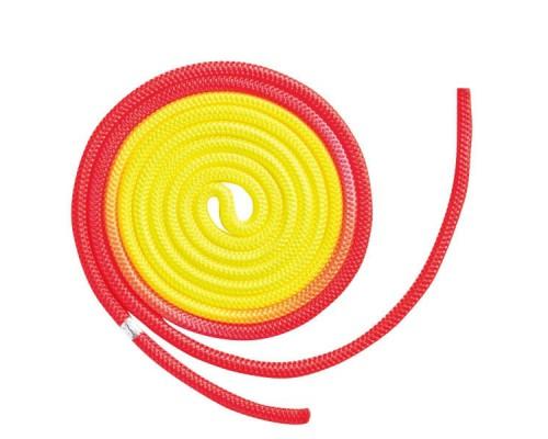 Скакалка Chacott Gradation 3 m FIG цв. Orange-Yellow 68750