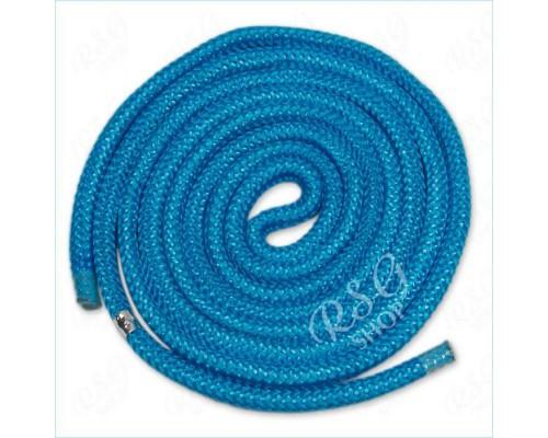 Скакалка Chacott Practice 2,5 m цв. Turquoise Art. 31025