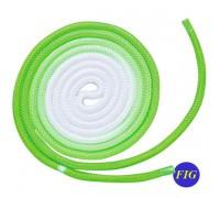 Скакалка Chacott Gradation 3 m FIG col. Yellow-Green Art. 98733