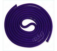 Скакалка Venturelli 3м мод. PL2 col. Dark Purple FIG Art PL2-217