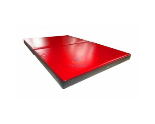 Мат складной ПВХ 150-100-8 см с 2-х частей