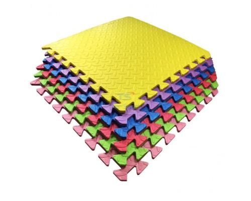Набор мягкие полы, коврик пазл 51х51х1см - 6 цветов