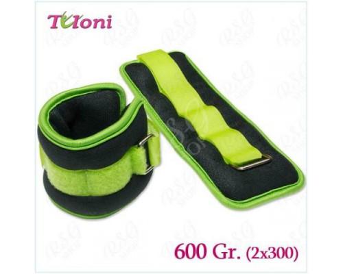 Утяжелители Tuloni 2 X 0,3 Кг T0132-600